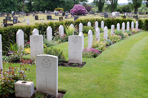 Polish War Graves in Wrexham