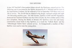 The Spitfire History at Grangemouth