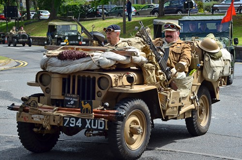 Military Vehicles - Stirling Armed Forces Day 2013