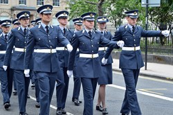Universities of Glasgow and Strathclyde Air Squadron - Armed Forces Day Glasgow 2013
