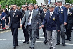 Royal Scots Dragoon Guards Veterans - George Square AFD Glasgow 2013