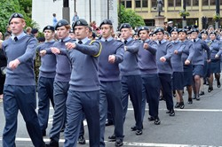 Air Training Corps Cadets - Armed Forces Day Glasgow 2013