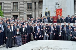 Royal Scots Dragoon Guards Veterans - Armed Forces Day Glasgow 2013