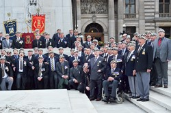 Royal Scots Dragoon Guards Association - Cenotaph Glasgow AFD 2013