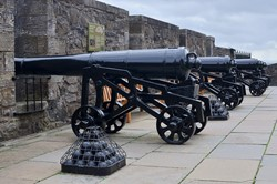 Guns of the Grand Battery - Stirling Castle, Scotland