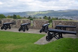 Guns on the French Spur - Stirling Castle, Scotland