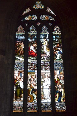 Stained Glass Window - Church of the Holy Rude, Stirling, Scotland