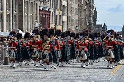 Band of the Royal Regiment of Scotland - Edinburgh Armed Forces Day 2014