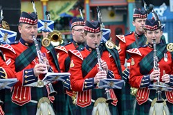 Band of the Royal Regiment of Scotland Clarinetists - Edinburgh Armed Forces Day 2014