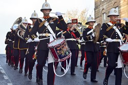 Royal Marines Band - West George Street, Glasgow 2014 Parade