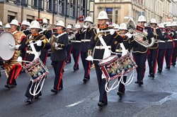 Military Band Royal Marines - Glasgow 2014
