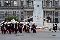 Royal Marines Band Scotland - Cenotaph, George Square, Glasgow 2014