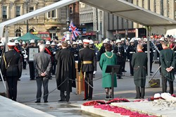 Royal Marines Freedom of Glasgow Ceremony 2014