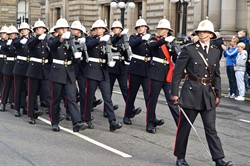 Royal Marines Freedom Parade - Glasgow 2014