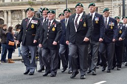 RM Veterans - Freedom Parade Glasgow November 2014