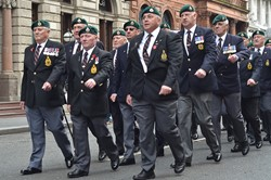Veterans Royal Marines - St Vincent Place Glasgow 2014