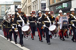 Band Royal Marines - Argyle Street Glasgow 2014