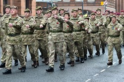 British Army - Remembrance Sunday Glasgow 2014