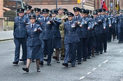 Royal Air Force - Remembrance Sunday Glasgow 2014