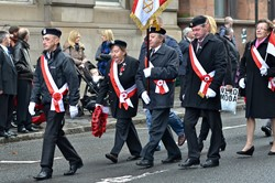 Polish Armed Forces - Remembrance Sunday Glasgow 2014