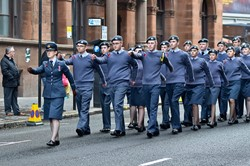 Air Training Corp - Remembrance Sunday Glasgow 2014