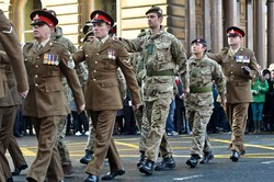 Military Personnel - Remembrance Sunday Glasgow 2014