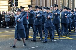 Royal Air Force (RAF) - Remembrance Sunday Glasgow 2014