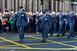 Air Training Corps - Remembrance Sunday Glasgow 2014