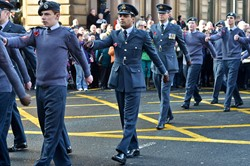 Royal Air Force Air Cadets - Remembrance Sunday Glasgow 2014