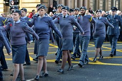 Air Training Corps Cadets - Remembrance Sunday Glasgow 2014