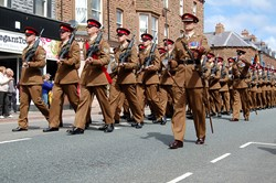 Duke of Lancaster's Regiment Curzon Street Maryport 2015