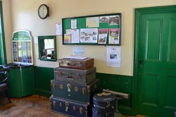 Holt Station Booking Office - North Norfolk Railway