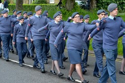 Air Cadets - Armed Forces Day 2015 Stirling