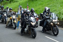 Riders Branch Royal British Legion Scotland - Armed Forces Day 2015 Stirling