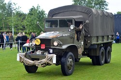 Military Truck - Armed Forces Day 2015 Stirling