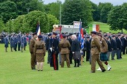 Parade Inspection - Armed Forces Day 2015 Stirling