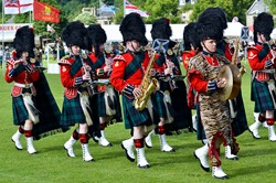 Royal Regiment of Scotland Band - Armed Forces Day 2015 Stirling