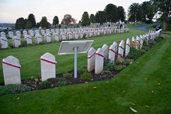 Headstones Polish War Graves - Perth 2015