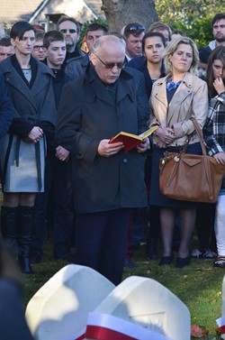 Polish Priest All Saints Day Edinburgh 2015