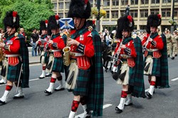 Band of the Royal Regiment of Scotland - Homecoming Parade Glasgow 2016