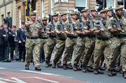 RHF Soldiers Homecoming Parade Glasgow 2016