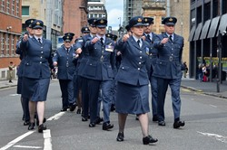 Royal Air Force - Armed Forces Day Glasgow 2016