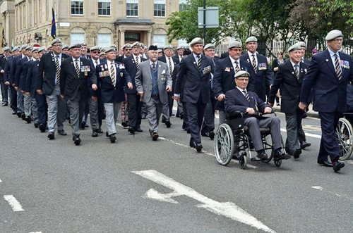 Royal Scots Dragoon Guards Veterans - Armed Forces Day Glasgow 2016