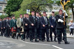 Royal Highland Fusiliers Veterans Glasgow Armed Forces Day 2016
