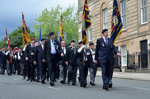 Veterans on Parade - Armed Forces Day 2016 Glasgow
