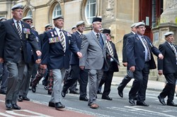 Royal Scots Dragoon Guards Veterans - Glasgow AFD 2016