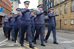 Universities of Glasgow and Strathclyde Air Squadron - Glasgow Armed Forces Day 2016