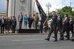Royal Marine Veterans - Glasgow Armed Forces Day 2016