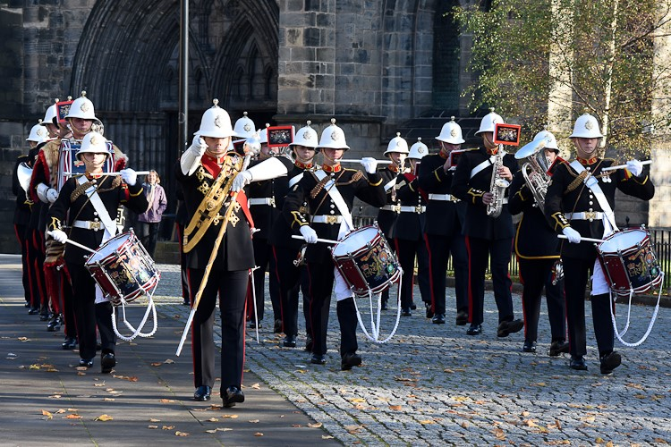 Band of the Royal Marines - Glasgow Cathedral 2016