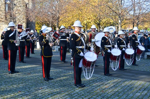 Band of the Royal Marines - Seafarers Service Glasgow Cathedral 2016